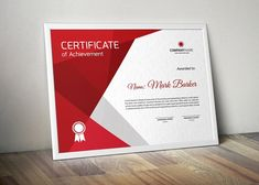 Certificate от curvedesign on Envato Elements Certificate Design Template, Cv Template, Design Templates, Business Brochure, Business Card Logo, Envato Elements, Composition, Stationery Templates, Stationery Design
