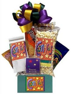 Product Description: When *Congratulations* are in order, this festive choice is an instant celebration. Yummy goodies say *Yeah! Seasoned Pretzels, Cheese Straws, Chocolate Dreams, Mini Cookies, Roasted Almonds, Tasty Bites, Chocolate Gifts, Graduation Gifts, Gift Baskets