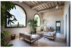 XV century farm villa renovation   by Paolo Mori and Simone Carloni from Studio CMTarchitects