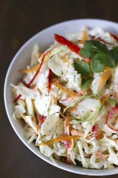 Cilantro Lime Slaw - Click for Recipe