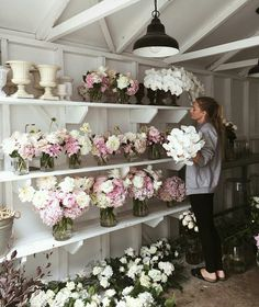 Flower Truck, Flower Bar, Florist Shop Interior, Flower Power, Flower Shop Interiors, Wildwood Flower, Flower Shop Design, Flower Studio, Flower Stands
