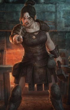 Today I just wanted to post a piece of art (not mine) that deeply inspires me. The Dwarf Commoner from Dragon Age Origins. Fantasy Dwarf, Fantasy Warrior, Fantasy Rpg, Medieval Fantasy, High Fantasy, Dnd Characters, Fantasy Characters, Female Characters, Warcraft Characters