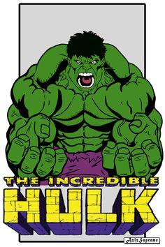 #Hulk #Fan #Art. (The Incredible Hulk) By:Aziz-Supreme-Art. ÅWESOMENESS!!!™ ÅÅÅ+