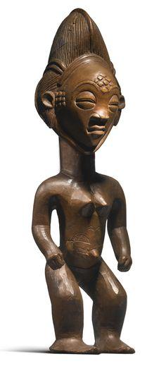 Punu-Lumbo Female Figure, Gabon | Lot | Sotheby's