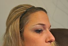 Glitters & Black Makeup