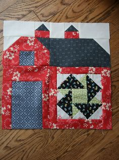 Sewn With Grace ~ Barn block