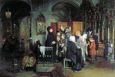 Before Confession  Alexei Ivanovich Korzukhin