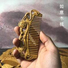 Wood Comb, Phone Case, Room, Handmade, Beautiful, Design, Accessories, Jewelry, Women
