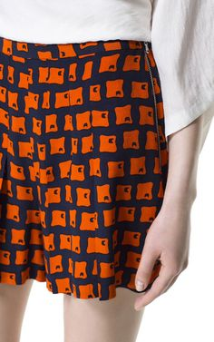 Image 5 of RETRO PRINTED SHORTS from Zara
