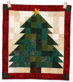 Christmas Quilts Photo Gallery: Charlene's Christmas Tree Quilt