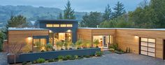 Green home design by Michelle Kaufmann. Huge fan of her work and her approach to modern home design.