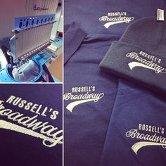 Our competition winner! Russell's fish and chips, lucky winner of a beanie, polo, t-shirt and sweatshirt embroidered with logo! #free #winner #competition #tshirt #sweatshirt #beanie #polo #embroidery #fishandchips