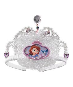 Take a look at the Lavender Sofia the First Tiara - Kids on #zulily today!