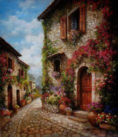 Painting by, Paul Guy Gantner