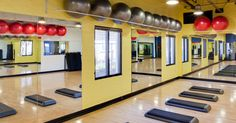 Take one of the many group classes offered in our group exercise room! (Picture: Howe Ave.)