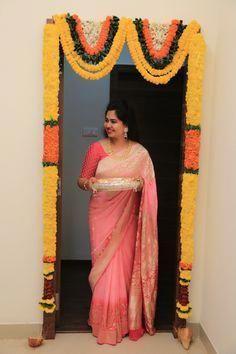 Baby pink benarasi saree Indian Saree CLICK Visit link to see
