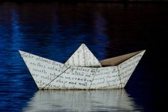 Frances Livings O Barquinho My-Little-Boat Brazilian jazz Bossa Nova Make A Paper Boat, Make A Boat, Paper Boats, Rain Gutter Regatta, Origami Boot, Buy A Yacht, Peter And The Starcatcher, Asian Paints, Wooden Boat Building