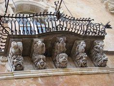 Ragusa Ibla  - Balcone  #visitsicily #sicilianbaroque #baroque