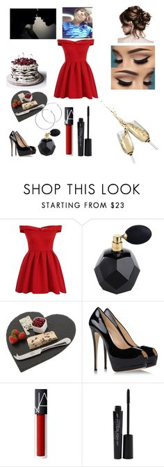 """Untitled #42"" by brianaishungry ❤ liked on Polyvore featuring Chi Chi, The Just Slate Company, Giuseppe Zanotti, Smashbox and Melissa Odabash"