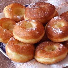 131086_2 Donut Recipes, Cake Recipes, Dessert Recipes, Cooking Recipes, Healthy Recipes, Hungarian Desserts, Hungarian Recipes, Baking Muffins, Sweet Cakes