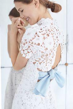 """""""Carolina Herrera bridal fall 2018 ecco la collezione Classicità e raffinatezza per una sposa al di sopra delle mode"""""""