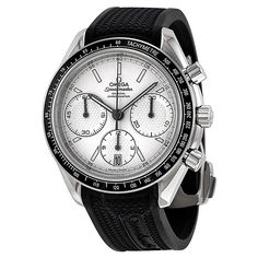 Omega Speedmaster Racing Automatic Chronograph Silver Dial Stainless Steel Men's Watch 32632405002001 - Speedmaster - Omega - Watches  - Jomashop