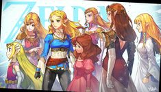 The Wind Waker - Four Swords - Breath of the Wild - The Legend of Zelda - Ocarina of Time - Twilight Princess - Skyward Sword: Zeldas The Legend Of Zelda, Legend Of Zelda Memes, Legend Of Zelda Breath, Zelda Twilight Princess, Princesa Zelda, Zelda Skyward, Link Zelda, Skyward Sword Link, All The Princesses