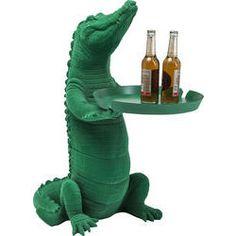 Beistelltisch Crocodile Green
