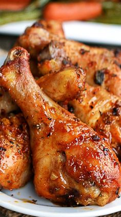Baked Garlic Paprika Chicken Legs