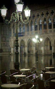 Place Saint Marc, Venise, Italie,