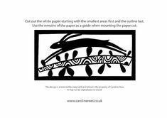 A paper cutting template of dog walking for you to print and cut at home.
