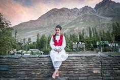 Pamiri Girl from Tajikistan in traditional Attire. Photo by Kamran Ali