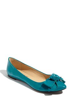 Possible wedding shoes - @ Nordstrom - REPORT 'Kathryn' Bow Flat for $59.90