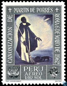 Peru - Canonization St. Martin de Porres 1965