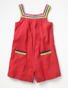 Discover our standout range of girls' dresses at Boden. Choose from comfy jersey styles for every day to extra-special party dresses for ages 0 to 16 years. To My Daughter, Daughters, Dungarees, Summer Kids, Playsuits, Summer Wardrobe, Boy Or Girl, Girl Outfits