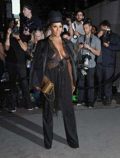 Celebrities at New York Fashion Week Spring 2017 - Newsday