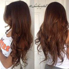 Her hair is amazing! Brown Blonde Hair, Brunette Hair, Brown Auburn Hair, Cinnamon Hair Colors, Dye My Hair, Balayage Hair, Subtle Balayage, Brown Balayage, Brown Hair Colors