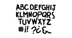 So for this post we've rounded up 26 free progressive and experimental fonts. These fonts might be pushing the limits of traditional type design, but the results are stunning. Free Fonts Download, Font Free, Typography, Lettering, Handwriting Fonts, Guerrilla, Believe In You, Letterpress, Free Design