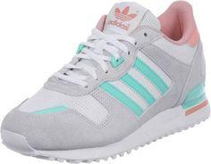 Adidas Original Sneaker zx 700 Schuhe für Damen GrauTürkis