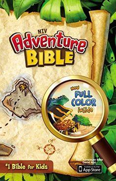 Adventure Bible, NIV by Lawrence O. Richards http://www.amazon.com/dp/0310727472/ref=cm_sw_r_pi_dp_x0NAub1ZV7BGF