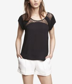 tried this on and loved it! Women's Tops: Shirts, Blouses, Camis & Graphic Tees | Express