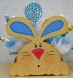 Centro mesa conejo