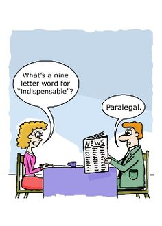 The Indispensable Paralegal cartoon