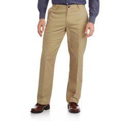 Genuine Dickies Flat Front Flex Pant, Men's, Size: 36 x 30, Beige