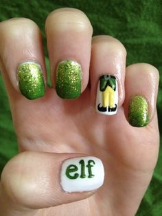 Elf fingernail polish.  In love.   MEGAN BRELAND!!!!!