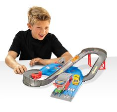 Amazon.com: Hot Wheels City Speedway Trackset: Toys & Games