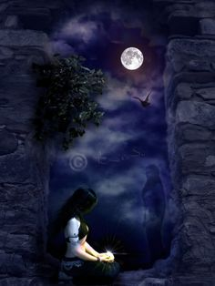 wiccan   wiccan ritual,wicca,witch,fantasy,Full Moon
