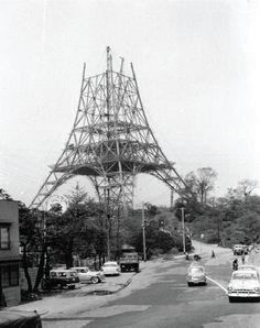Tokyo tower, 東京タワー. 1958