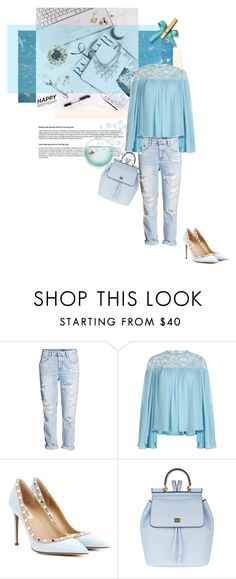 """""""happy b-day..."""" by theitalianglam ❤ liked on Polyvore featuring Elie Saab, Valentino, Dolce&Gabbana, contestentry and happybirthdaypolyvore"""