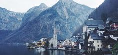 Austria 奧地利 冬天 哈爾斯塔特 Hallstatt | 媽媽說 做人要腳踏實地 | shortie helen